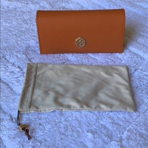 Tory Burch Sunglass or optical case, fits all